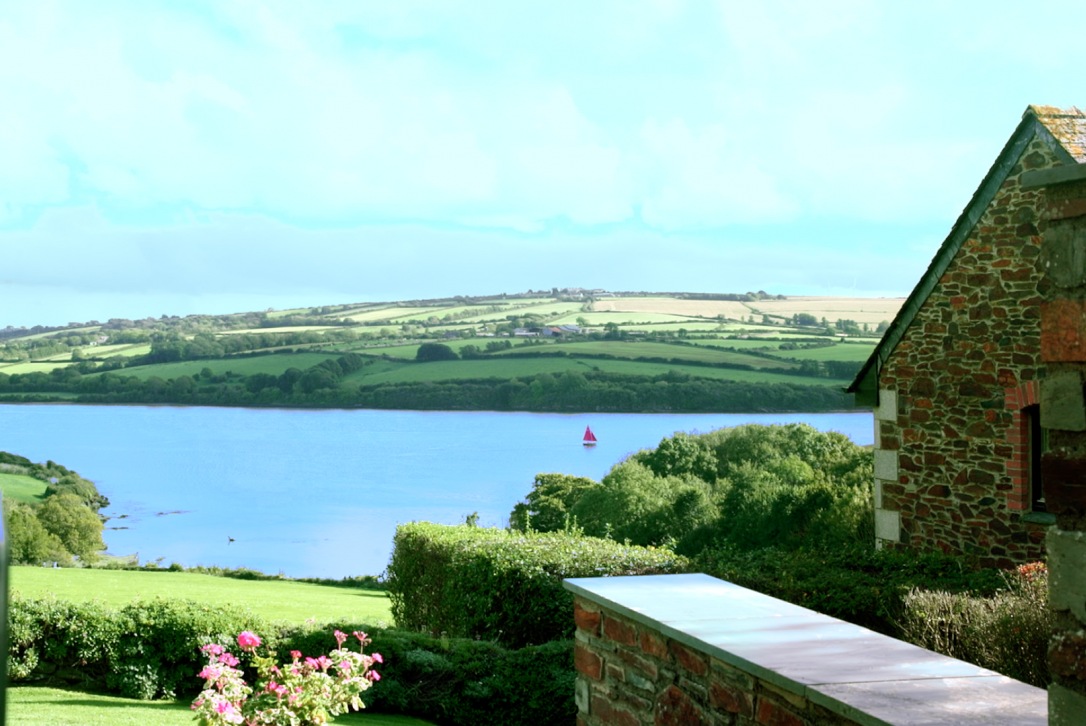 View from The Orchard, a self-catering holiday home in Rock, North Cornwall