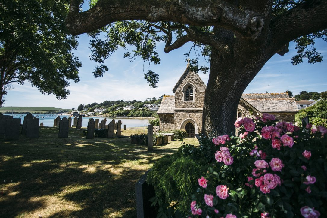 St Michael's Church at Porthilly, Rock, North Cornwall