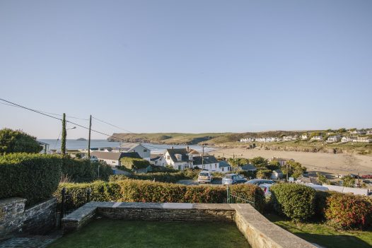 Sea view from No 2 Pentire View, a self-catering holiday home in Polzeath, North Cornwall