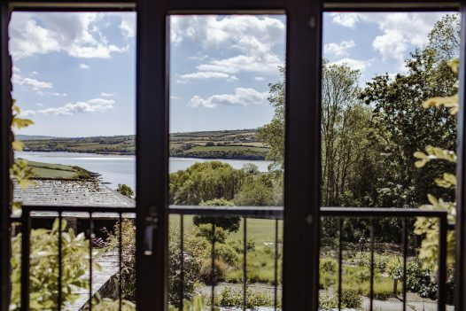 Estuary view from The Farmhouse, a self-catering holiday home in Rock, North