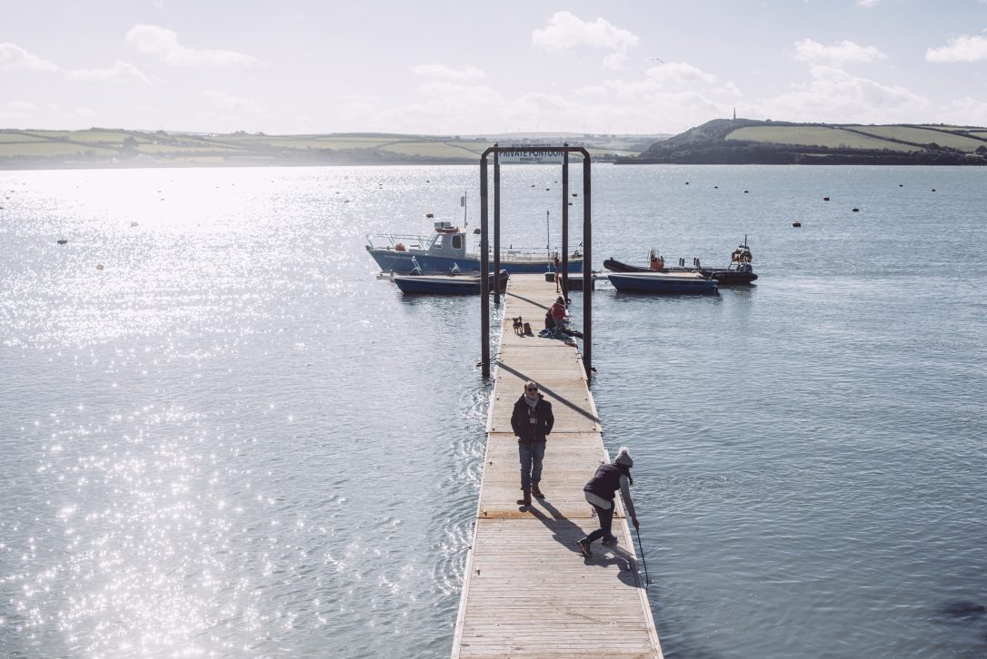 The Pontoon in Rock, North Cornwall