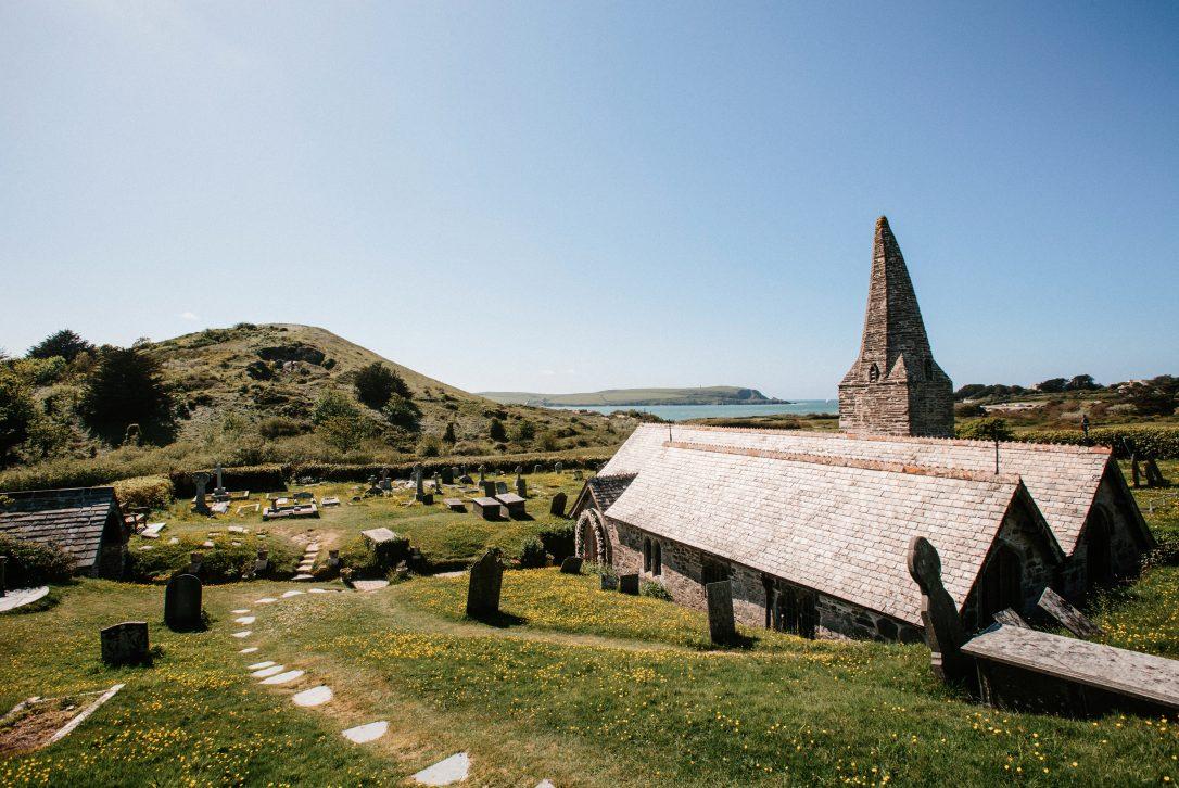 St Enodoc Church, Daymer Bay, North Cornwall