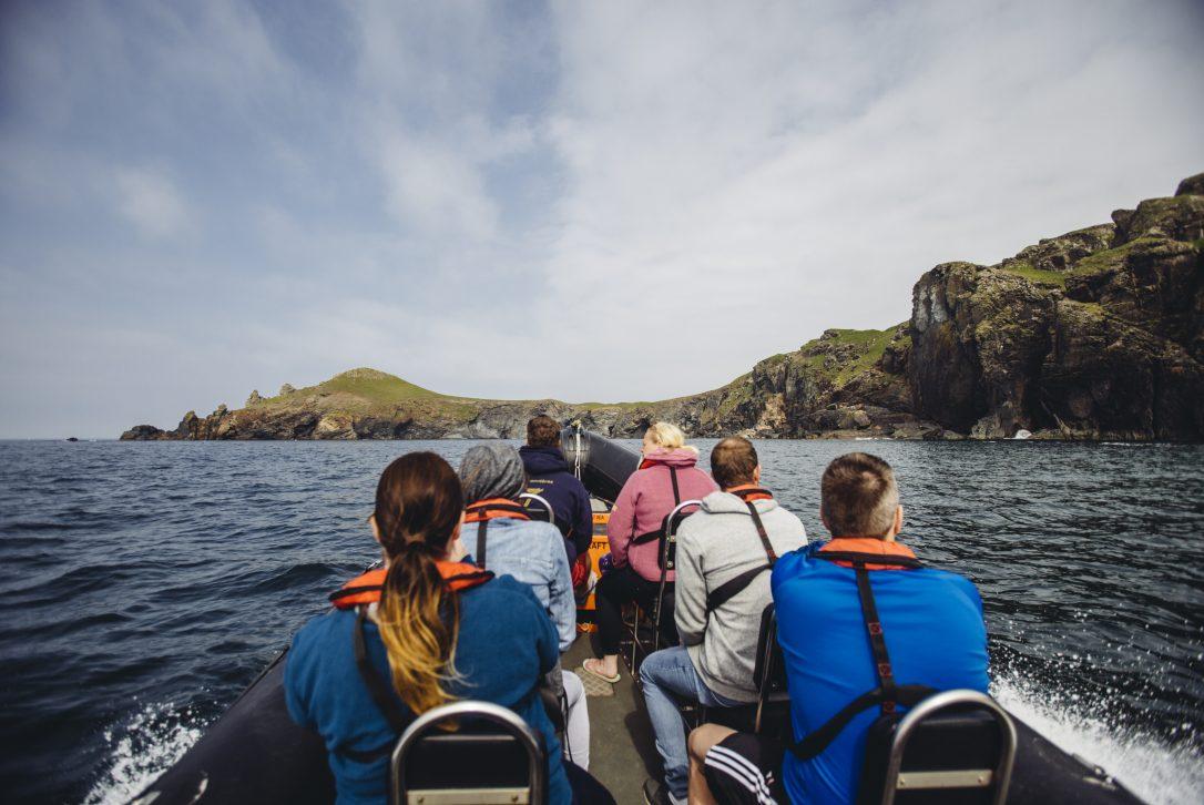 Sea Safari, Polzeath, North Cornwall