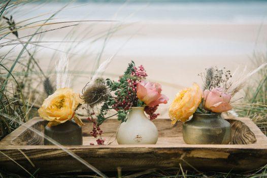 Wedding on the North Cornwall coast