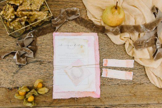 Autumn wedding stationary inspiration