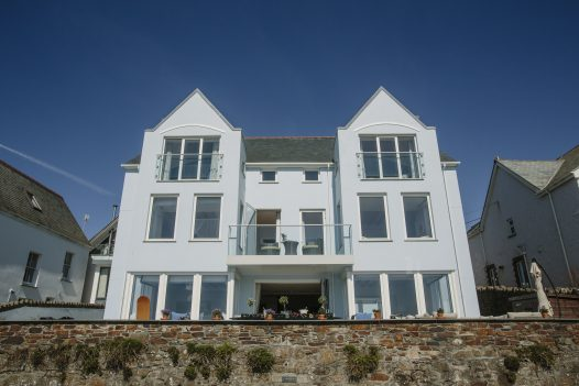 Tristram in New Polzeath is just a two minute walk from Baby Bay