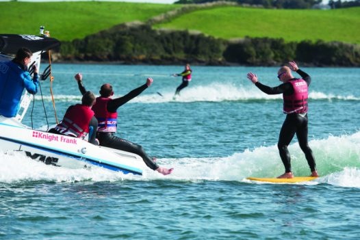 Wakesurfing with Camel Ski School, Rock, North Cornwall