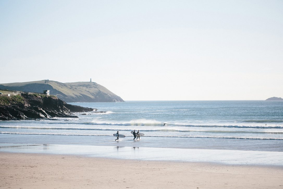 Carn Mar above Polzeath beach is perfect for a surfing holiday