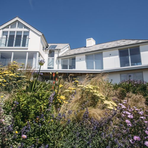 Carn Mar, a luxury self-catering holiday home above Polzeath beach, North Cornwall