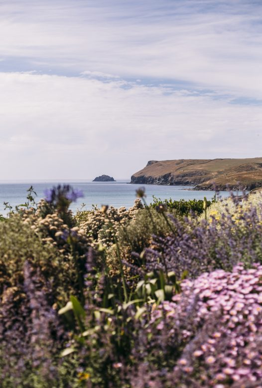 View of Pentire Point and The Mouls from Carn Mar, a self-catering holiday house in New Polzeath, North Cornwall