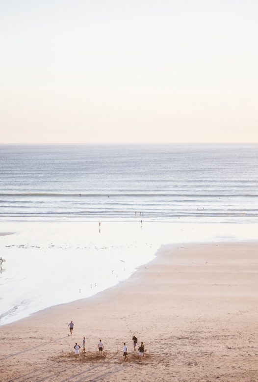 Enjoy sea and beach views from Carn Mar, a luxury self-catering holiday home in Polzeath, North Cornwall