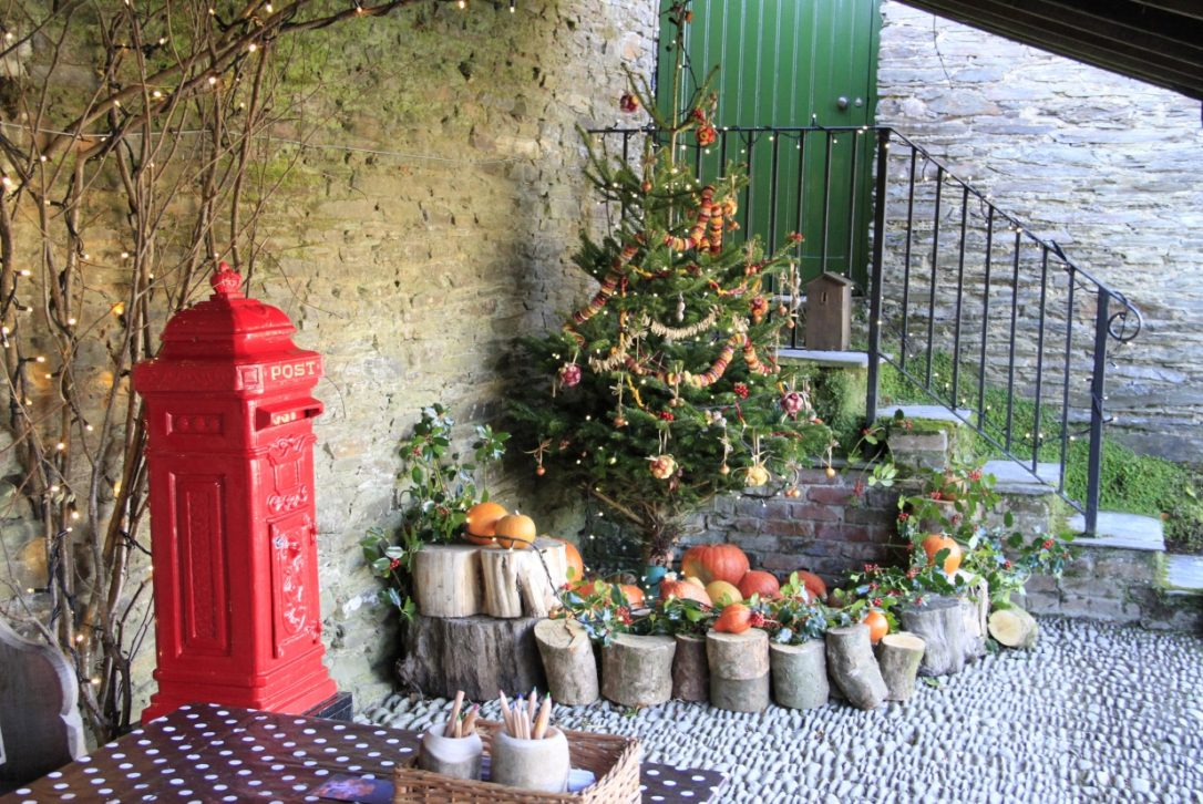 Christmas at The Lost Gardens of Heligan, Cornwall