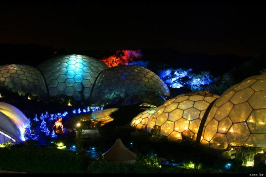 The Eden Project Christmas Festival, Cornwall