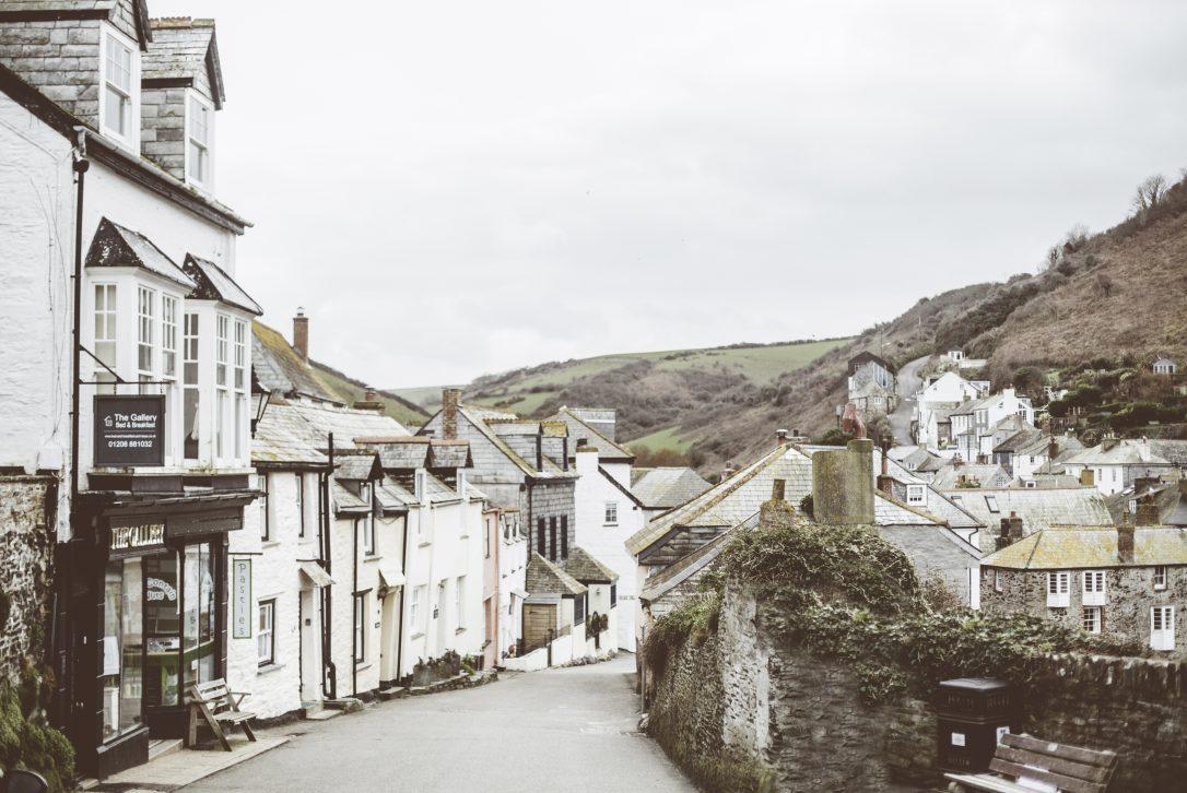 Streets of Port Isaac, North Cornwall