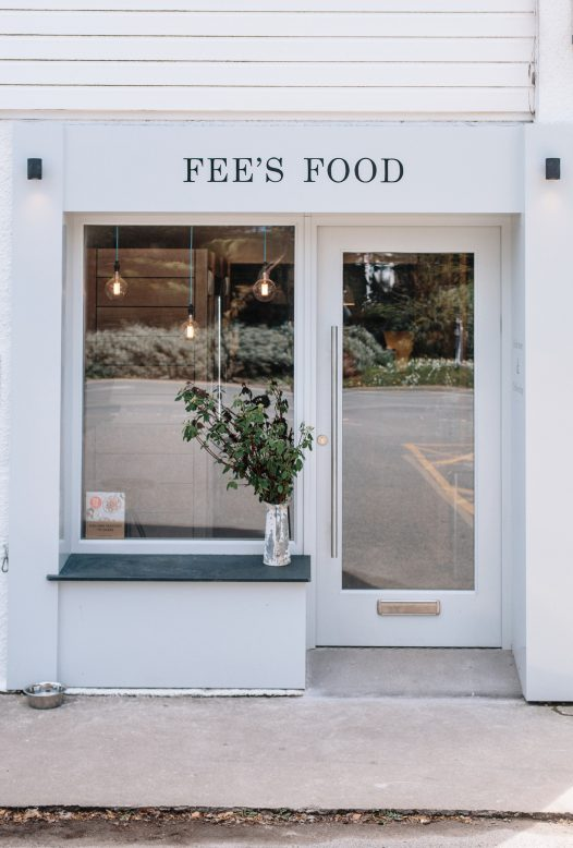 Fee's Food Deli and Coffee Shop in Rock, Cornwall