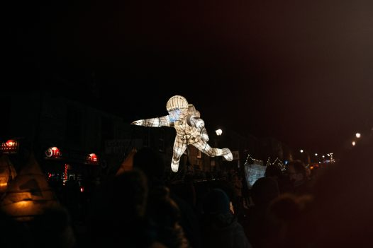 The City of Lights takes place in Truro in November
