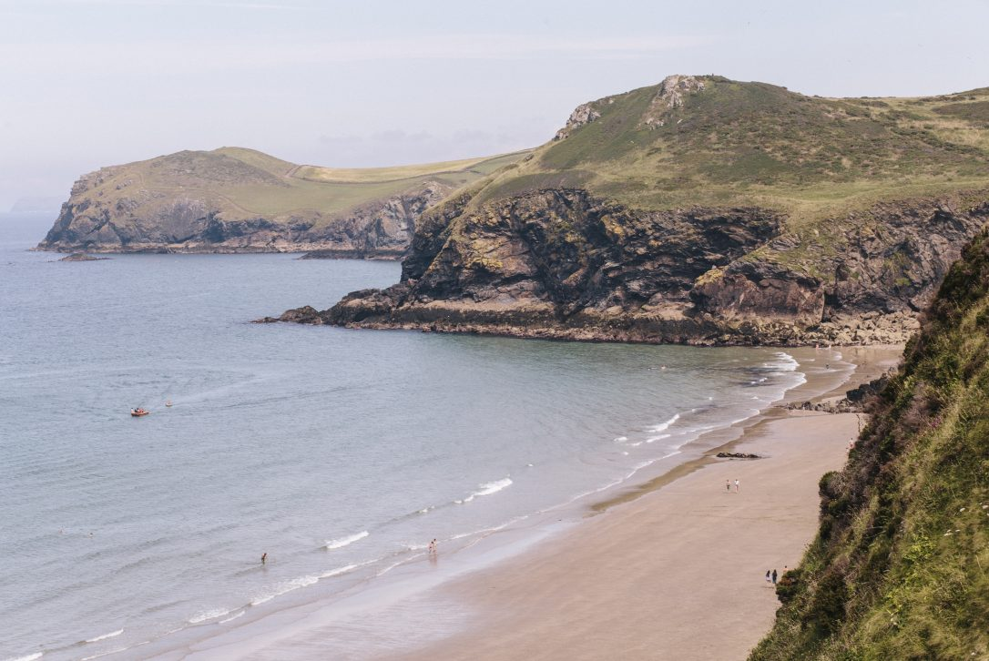 Lundy Bay, North Cornwall