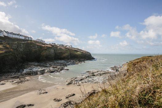 Port Gaverne beach, North Cornwall