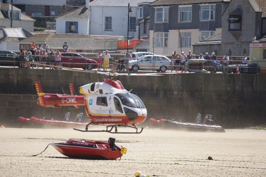 Latitude50 are supporting the Cornwall Air Ambulance Heli Appeal