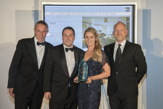 Latitude50, winner of Self Catering Accommodation of the Year at the Cornwall Tourism Awards