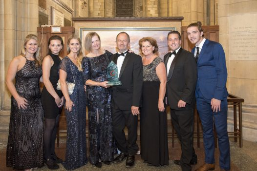 Latitude50, winner of Self Catering Accommodation of the Year at the Cornwall Tourism Awards held at Truro Cathedral