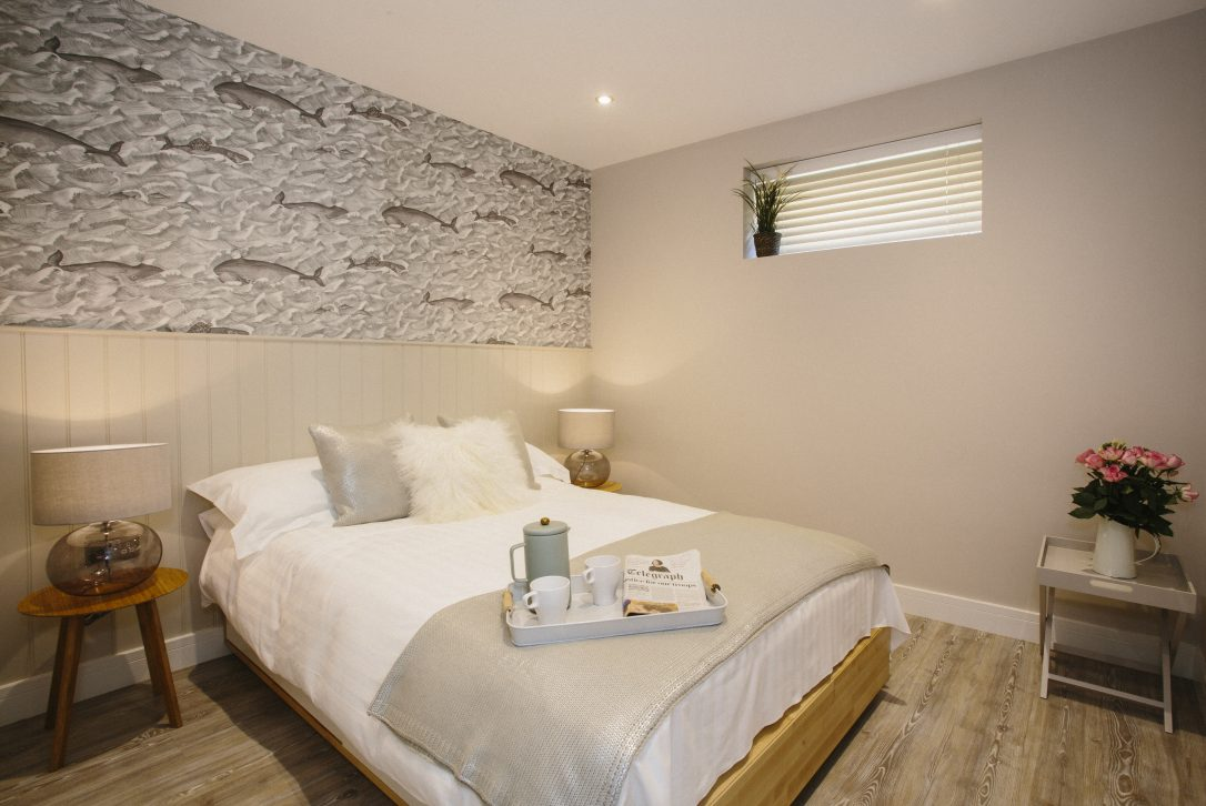 Bedroom at Seabreeze, a self-catering holiday home in Polzeath, North Cornwall