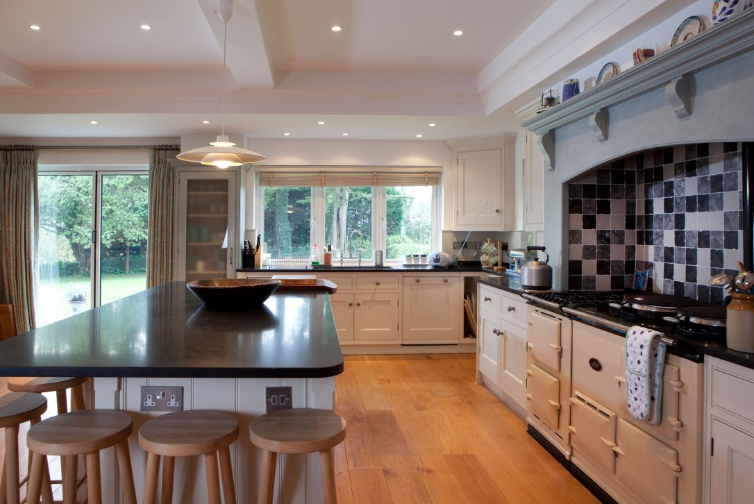 Kitchen at Buzza Vean, a self-catering holiday home in Rock, North Cornwall