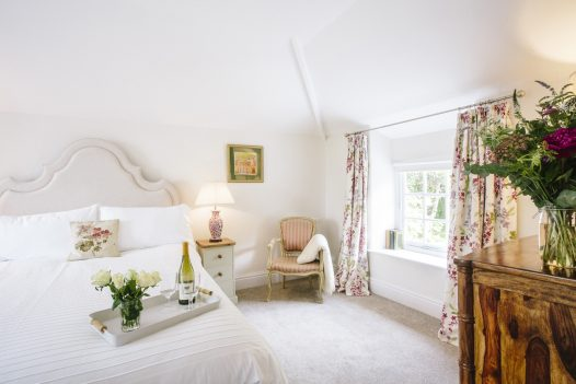 Bedroom at The Coach House, a self-catering holiday cottage near Rock, North Cornwall