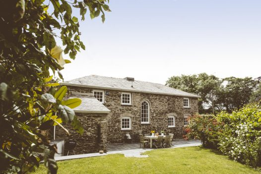 The Coach House, a self-catering holiday cottage near Rock, North Cornwall