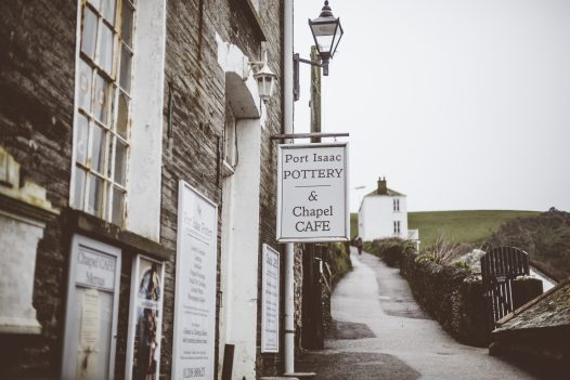 Port Isaac Pottery and Chapel Cafe