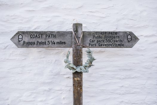 From Port Isaac you can join the South West Coast Path to Port Gaverne