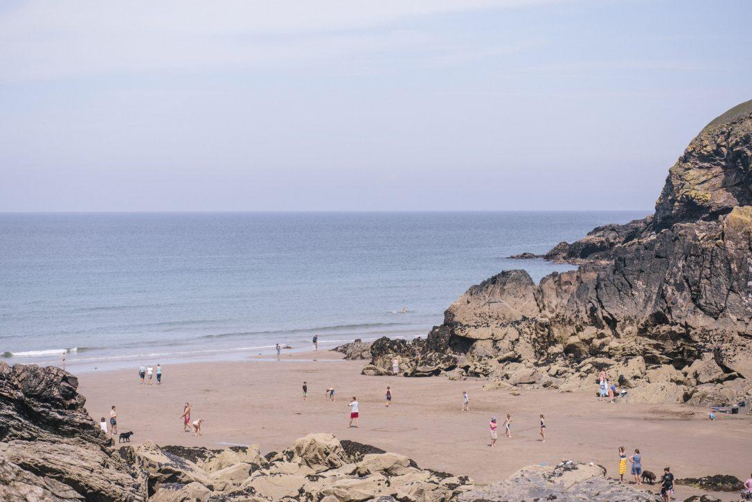 Lundy Bay, near Polzeath, North Cornwall
