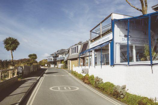 The Blue Tomato Café, Rock, North Cornwall
