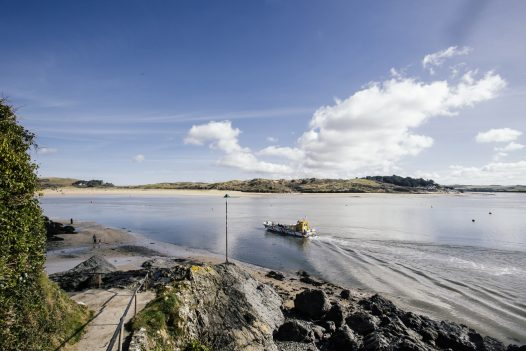 Dogs are welcome on the Rock to Padstow ferry for just £1 at the ferryman's discretion