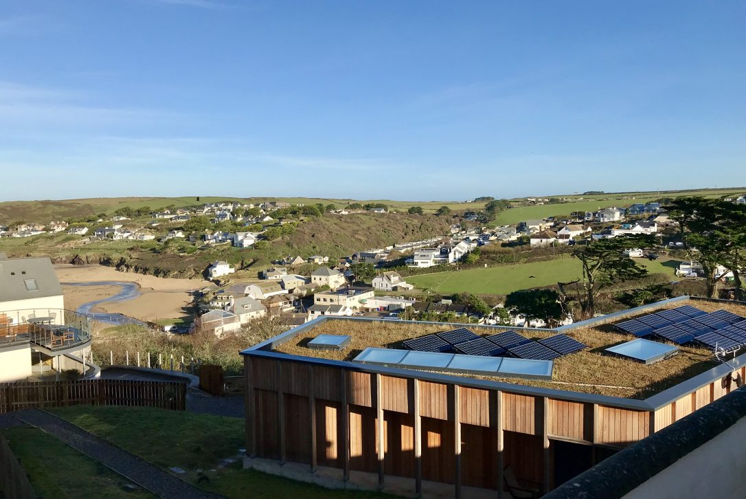 Exterior of Dry Creek House, a self-catering holiday home in Polzeath, North Cornwall