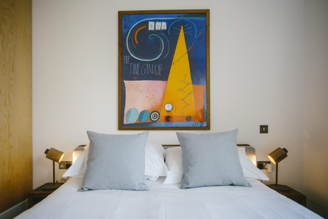 Bedroom at Dry Creek House, a self-catering holiday house in Polzeath, North Cornwall