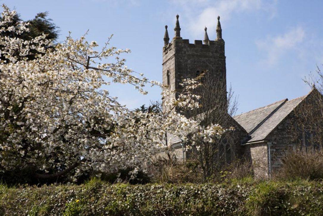 St Endellion Church near Port Isaac, North Cornwall