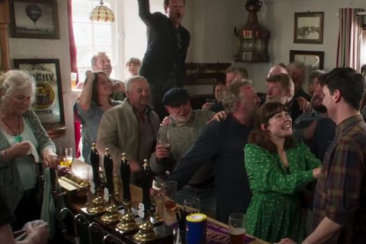 The Golden Lion pub in Port Isaac was one of the locations for the Fisherman's Friends film