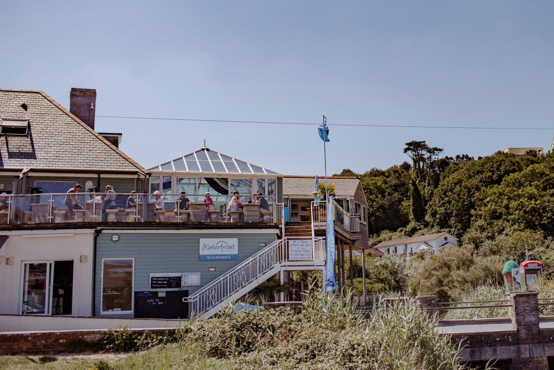 The Waterfront, one of our top picks for places to eat in Polzeath, North Cornwall
