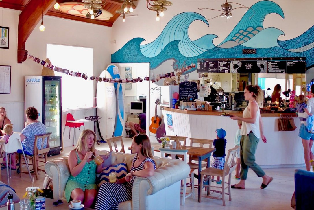 The Tube Station, one of our top picks for places to eat in Polzeath, North Cornwall