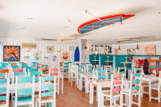 The Cracking Crab, one of our top picks for places to eat in Polzeath, North Cornwall