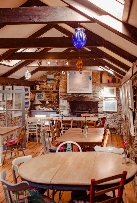 The Mowhay, one of our top picks for places to eat in Polzeath, North Cornwall