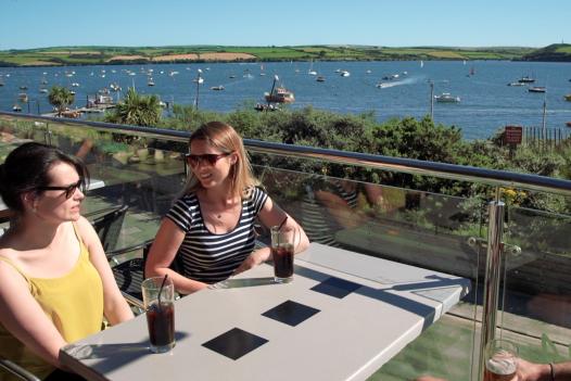 The Rock Inn, a restaurant in Rock, North Cornwall