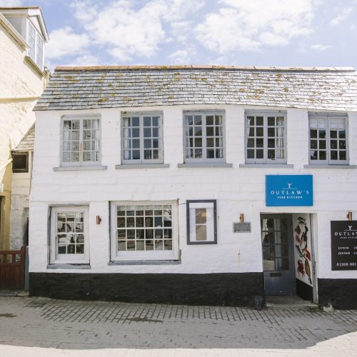 Nathan Outlaw's Fish Kitchen is located in Port Isaac, North Cornwall