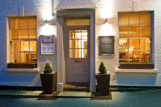 Paul Ainsworth's No 6 restaurant is located in Padstow, North Cornwall