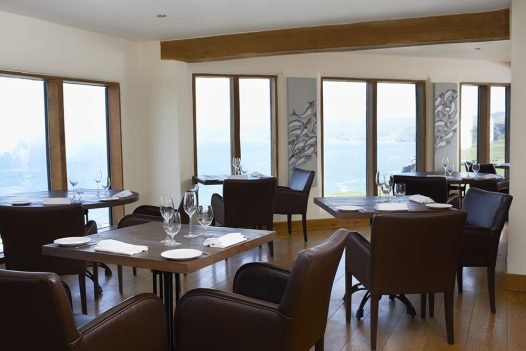 Restaurant Nathan Outlaw is located in Port Isaac, North Cornwall