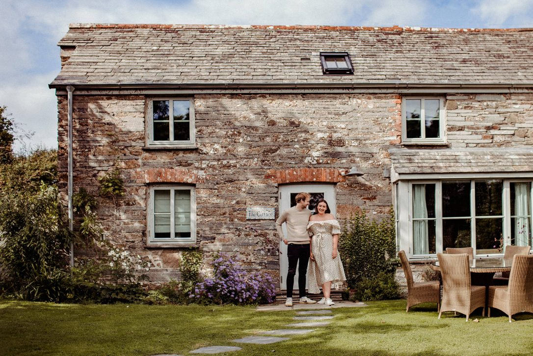 Penquite Cottage, the perfect North Cornwall escape for Valentine's Day