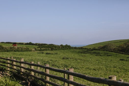Enjoy romantic countryside from The Linhaye near Port Isaac - the perfect self-catering escape for Valentine's Day