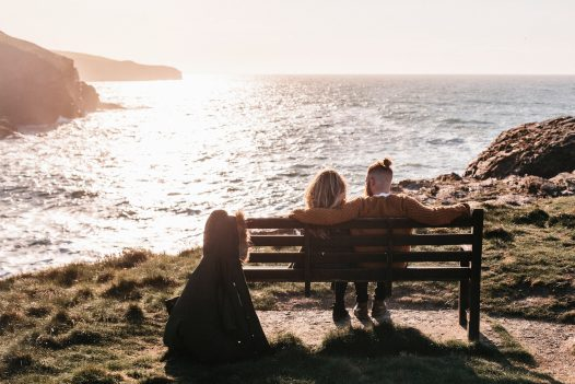 Enjoy romantic strolls on the coast at Port Gaverne path within easy reach from The Port House