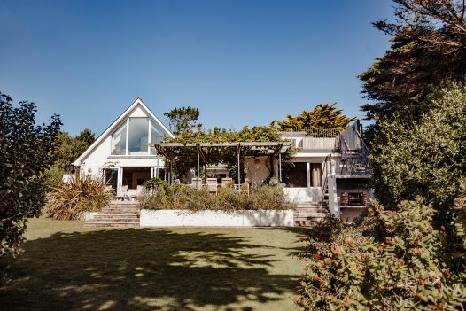 Exterior of Skylarks a self-catering holiday home in Daymer Bay, North Cornwall, available on a low occupancy rate.